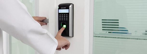 Acesso ao polo biotecnológico da CordCell através de biometria.